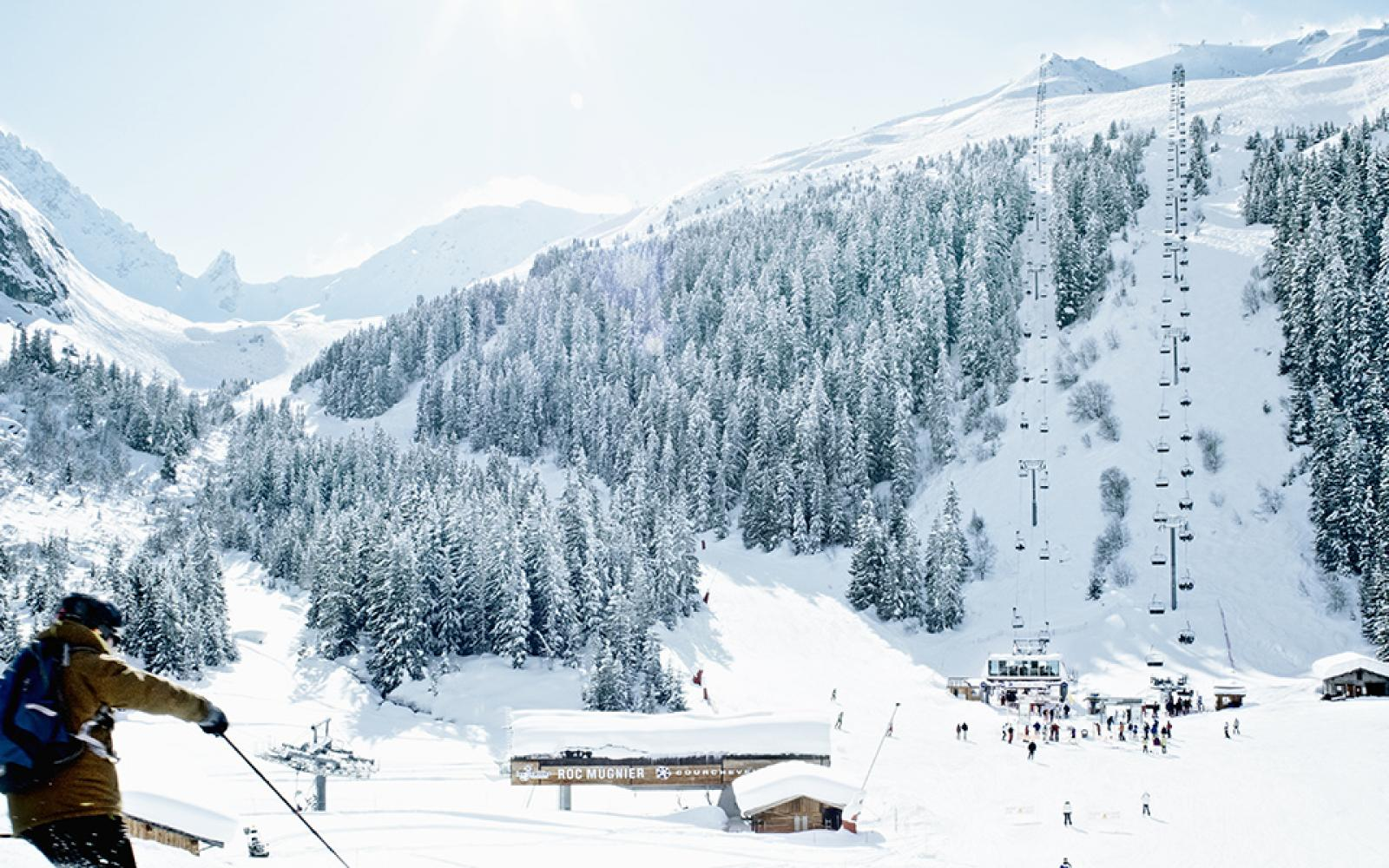 Ski exceptionnel sur le domaine skiable des 3 Vallées - Courchevel - La Tania - Méribel